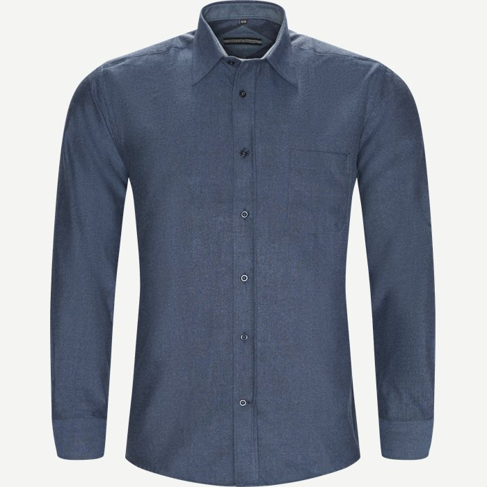 City Skjorte - Skjorter - Regular - Denim